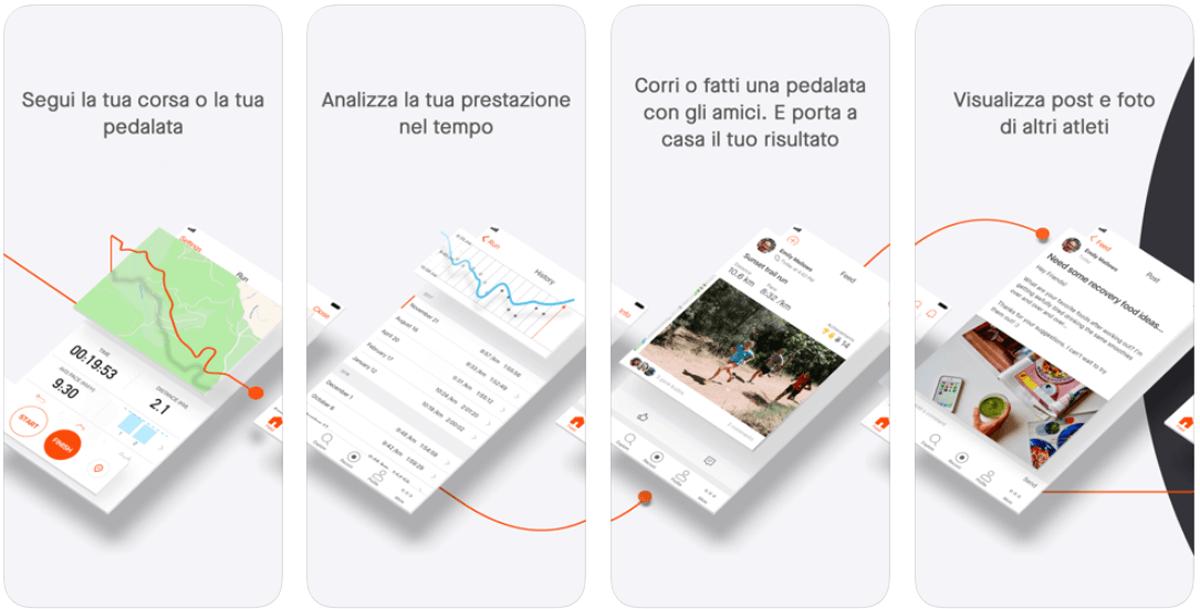 GPS Strava, app ciclismo e app fitness