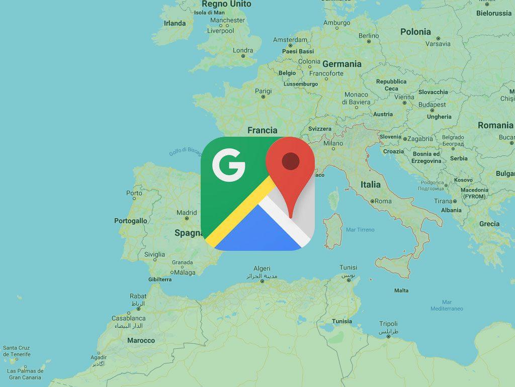 Google Maps, mappe e navigatore di oltre 220 Paesi