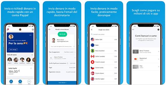 PayPal, usa l'app per inviare e ricevere denaro