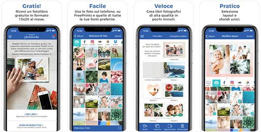 FreePrints Photobooks, l'app per ricevere gratis il tuo fotolibro standard