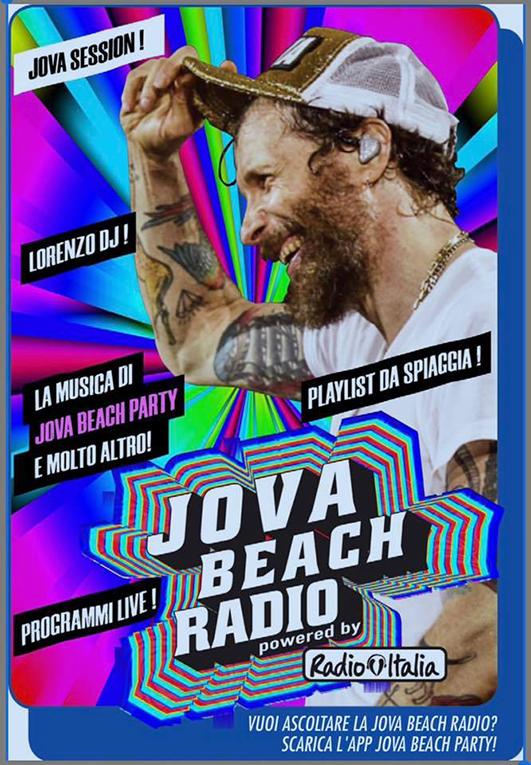 Jova Beach Radio (Photo credits: @lorenzo.jovanotti.cherubini su Facebook)