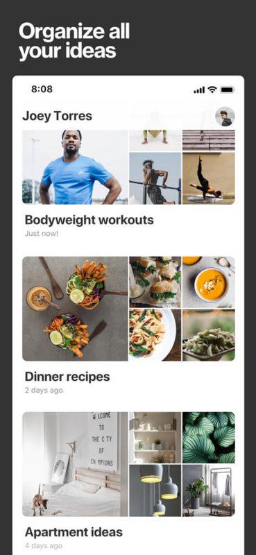 Pinterest, come caricare le foto sull'app