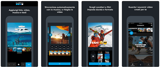 Quik, come funziona l'app di video editing
