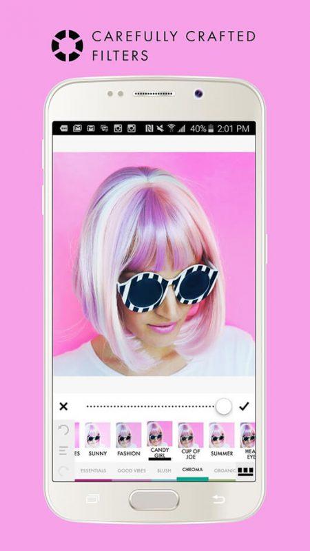 A Color Story: scegli tra più di 100 filtri