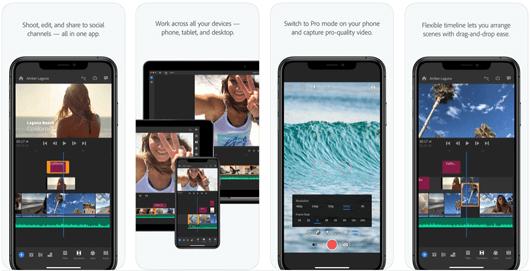 Adobe Premiere Rush, come usare l'app