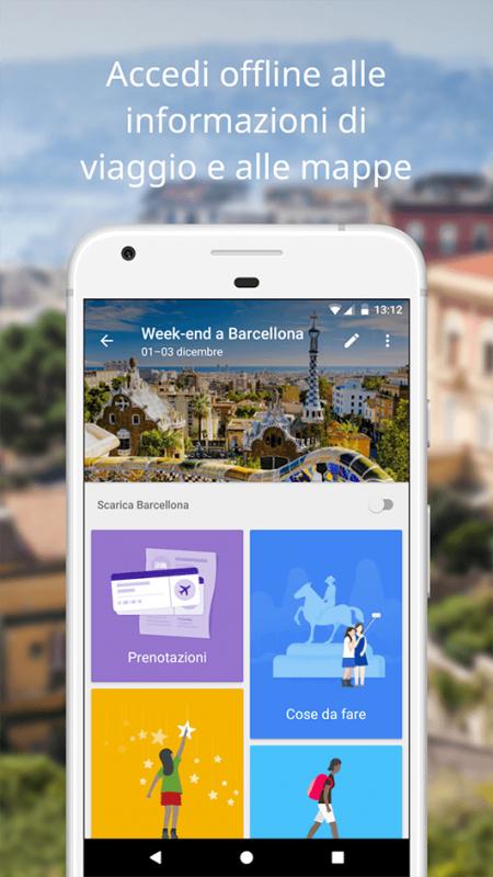 Google Trips, scarica il tuo viaggio per consultarlo offline