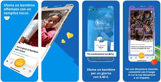 ShareTheMeal, l'app per combattere la fame con un click