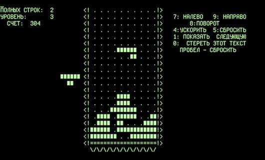 Tetris per Electronika 60 (Foto: ilpost.it)