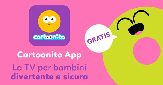 Cartoonito App, la TV per bambini
