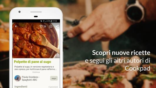 Cookpad, scopri nuove ricette