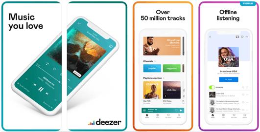 Deezer Music, come funziona