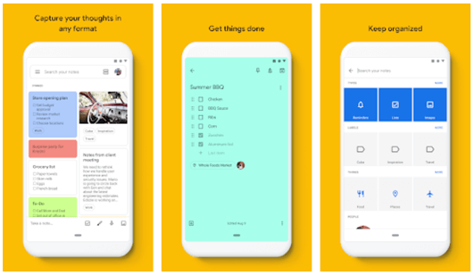 Google Keep, come funziona
