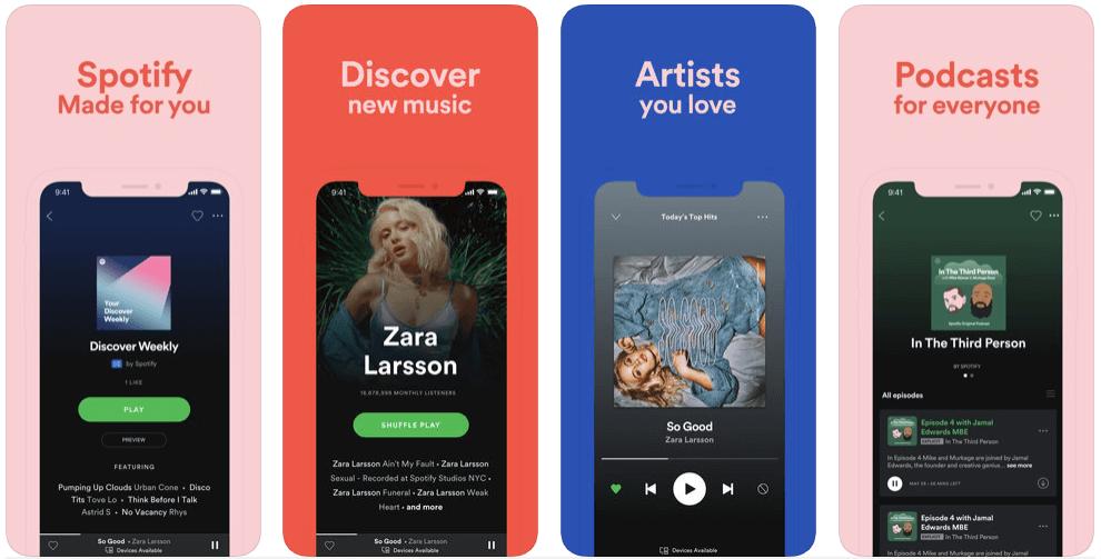 Spotify, come funziona