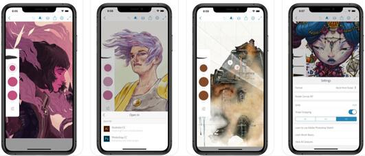 Adobe Photoshop Sketch, l'app per gli appassionati di disegno