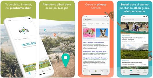 Ecosia, l'app per fare ricerche in rete è amica dell'ambiente