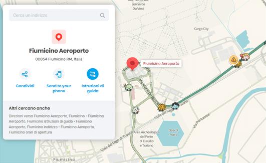 Waze, Live Map