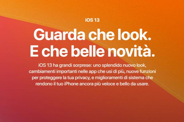 iOS 13, novità e funzioni