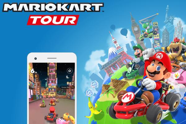 Mario Kart Tour app giochi