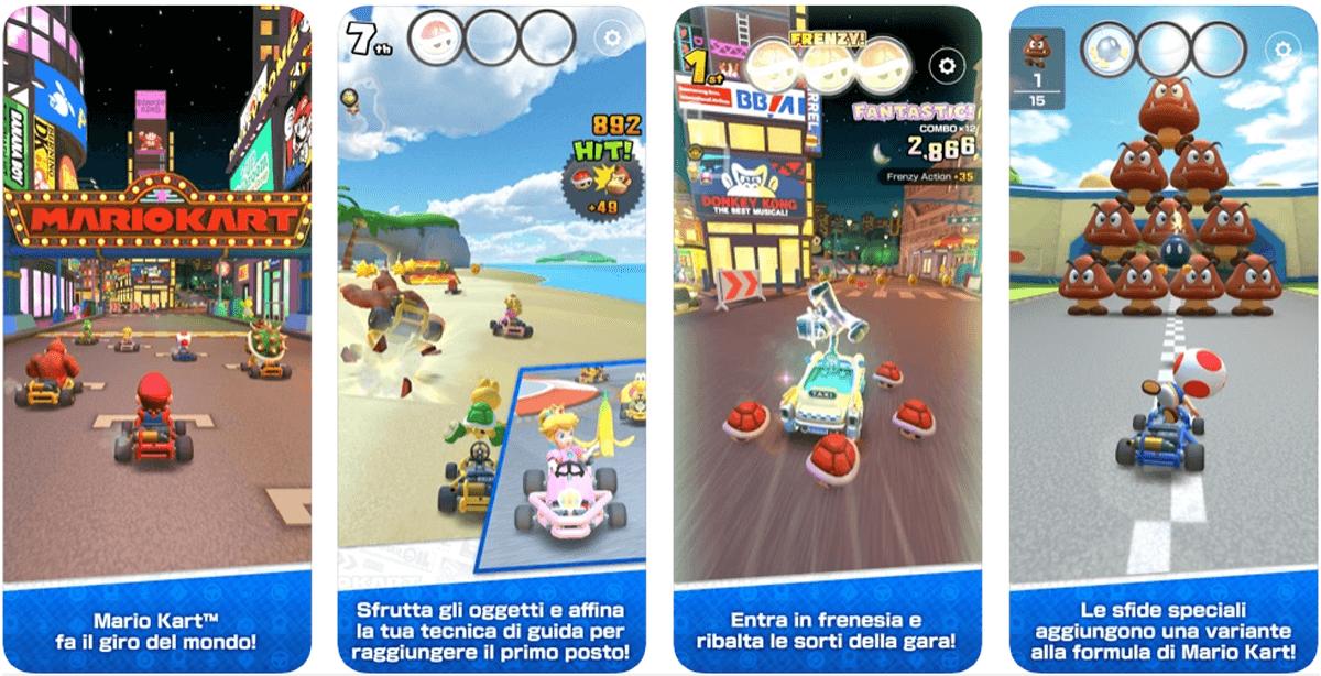 Mario Kart Tour, come si gioca
