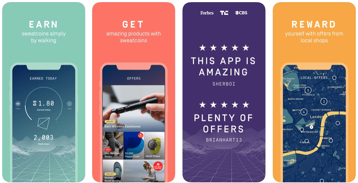 Sweatcoin, come funziona l'app che ti paga per camminare