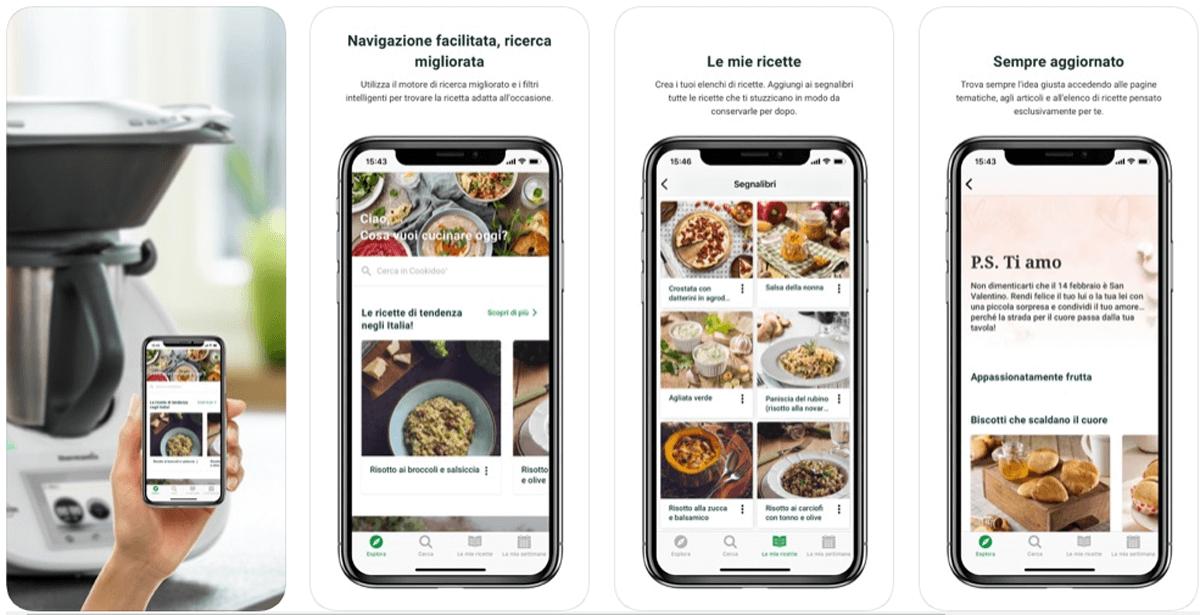 Cookidoo, la piattaforma di ricette per Bimby