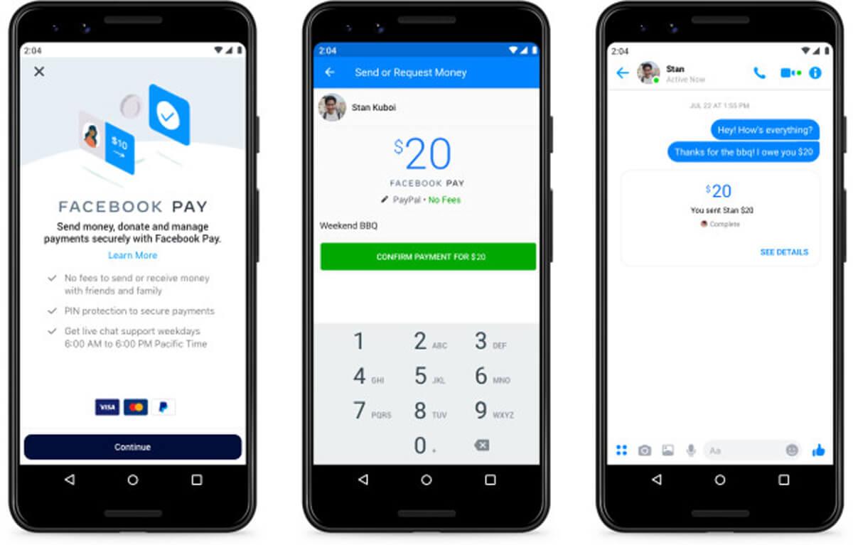 Facebook Pay, come funziona (fonte: Facebook Newsroom)