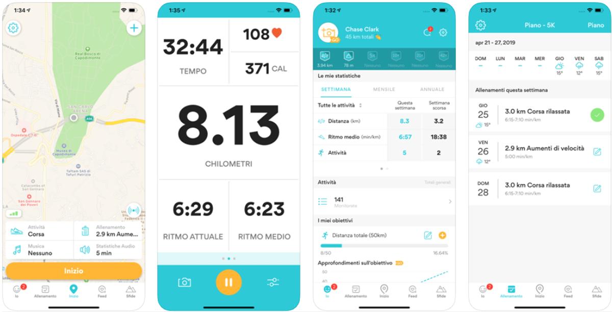 RunKeeper, come funziona l'app fitness del marchio Asics