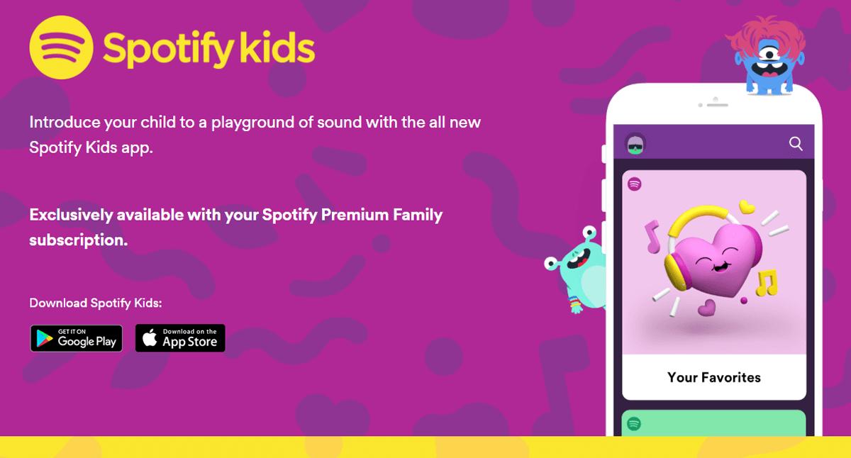 Spotify Kids, cos'è e come funziona