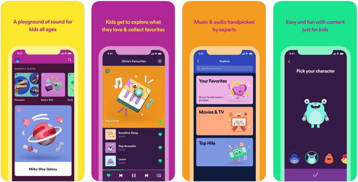 Spotify Kids, la piattaforma di streaming musicale per bambini