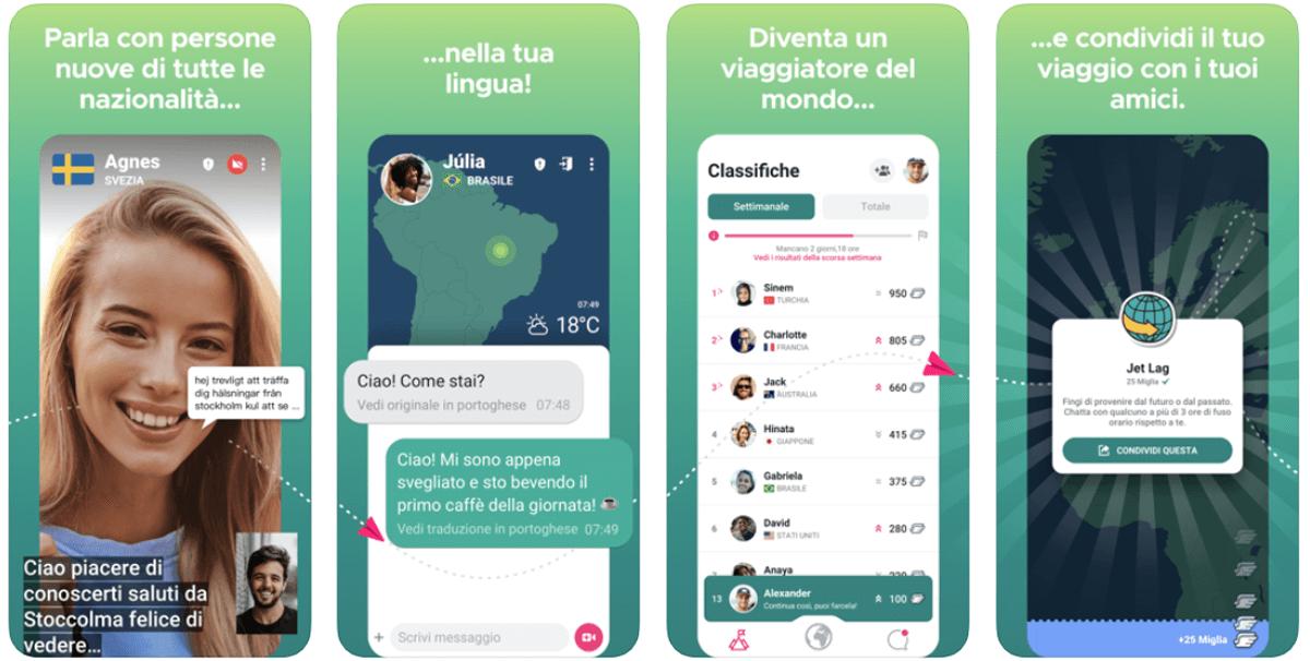 Ablo, come funziona l'app per chattare col mondo