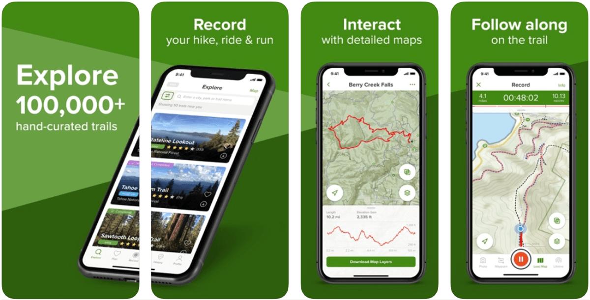 AllTrails, come funziona il navigatore GPS per l'escursionismo
