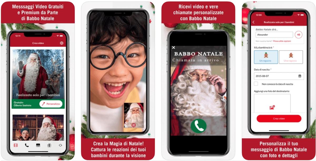 App ufficiale di Babbo Natale