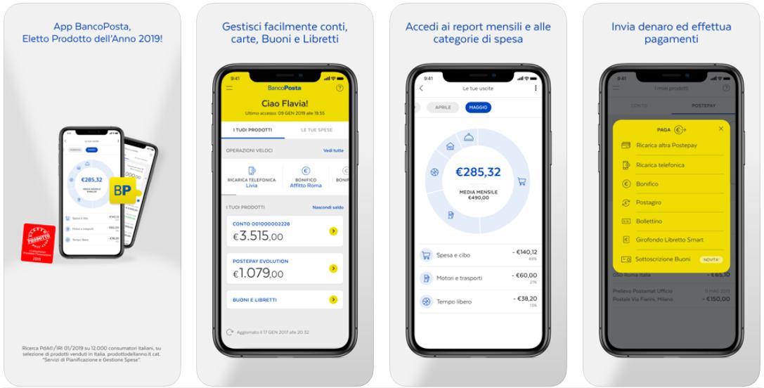 Accedi al conto BancoPosta tramite app e controlla il saldo