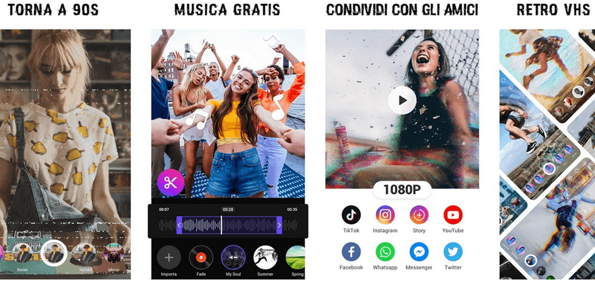 Editor Video, come funziona l'app per editare video artistici