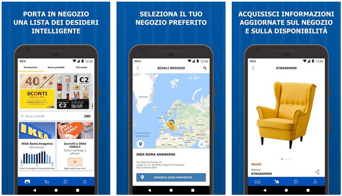 IKEA Store, l'app per comprare mobili e accessori per la tua casa