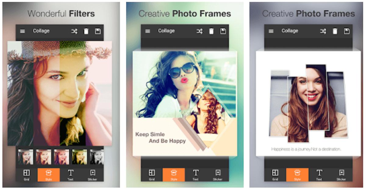 Photo Collage Editor, app per fare collage creativi