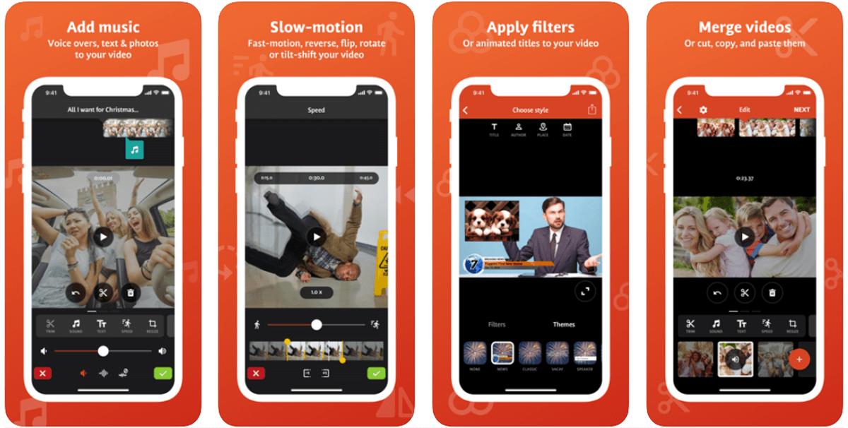 Videoshop, app per editare i video