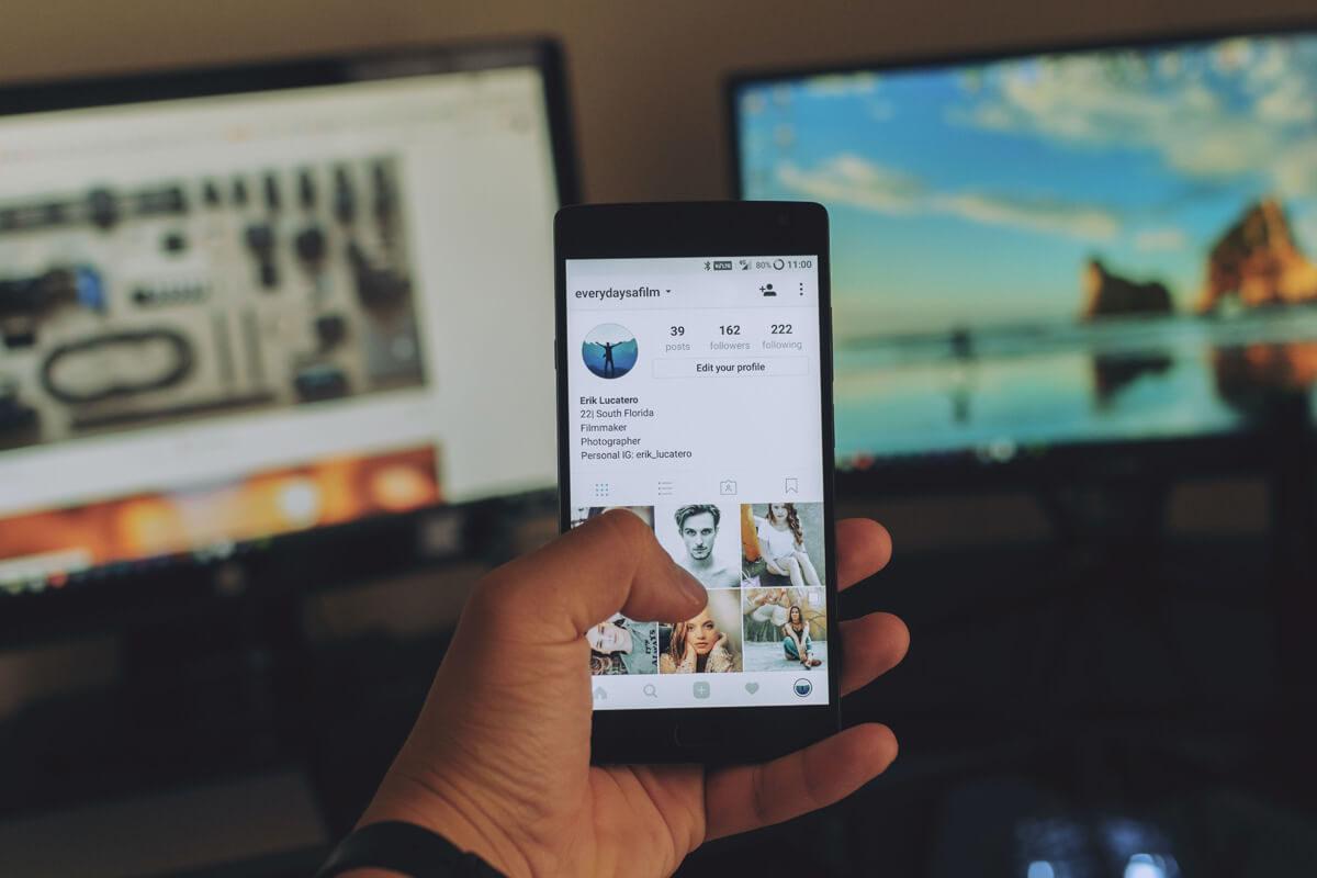 Instagram, QR Code per condividere account