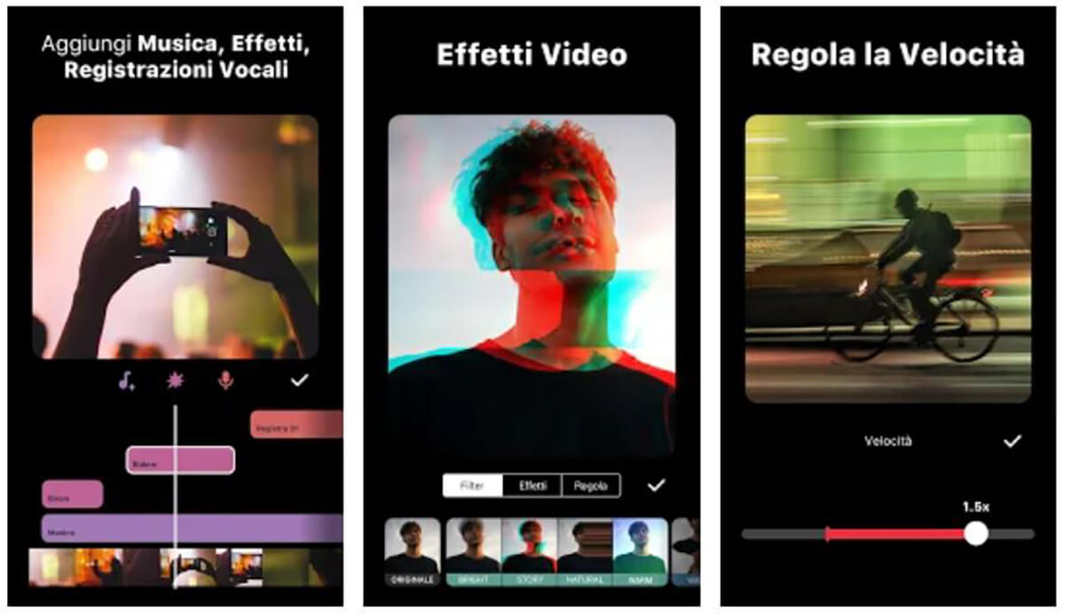 InShot, app per creare video con foto e musica