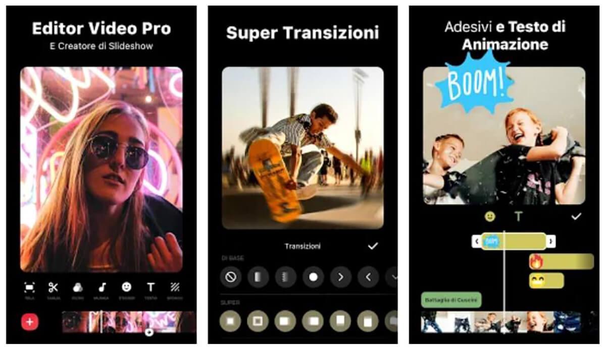 InShot, una delle applicazioni per editare i video