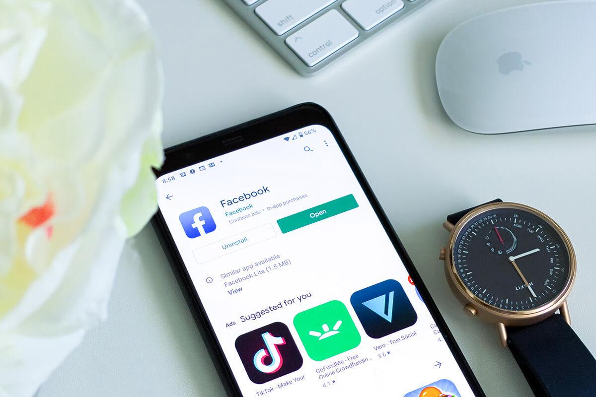 Facebook, app dedicate all'audio